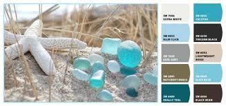 sea glass color inspiration