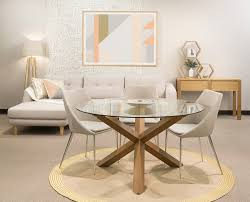 centerpiece for round glass dining table cabinets beds sofas on sydney simple table dining room contemporary