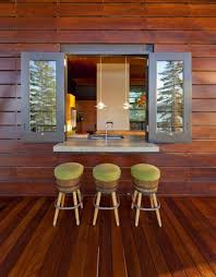 cool cabin ideas cool modern interior cabin design with glassed window and  wall mounted with wall pass through ideas