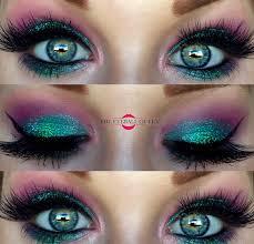 the eyeball queen disney s princess ariel inspired glittery makeup tutorial