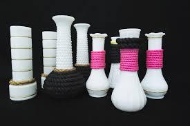 Modern Glass Vases Diy How To Give Milk Glass Vases A Modern Update Design Milk