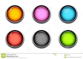 Glossy Button Icons Stock Vector Illustration Of Light 6099189