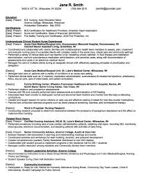 Education On Resume Examples Amazing Nurse Education Resume Sample Httpexampleresumecvorgnurse
