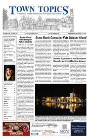 town topics newspaper november 11