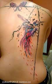 Tetování Pírko Na Ruku