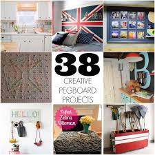 38 creative pegboard projects for your home