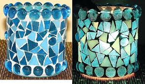 sea glass candle holder sea glass votive candle holders lovely stained glass votive candle holder