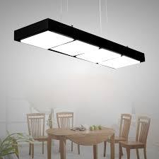 office light fixture. modern acryl office pendant lamp simple rectangle led lighting fixture for restaurant practical engineering indoor light