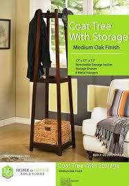 Home To Office Solutions Coat Rack