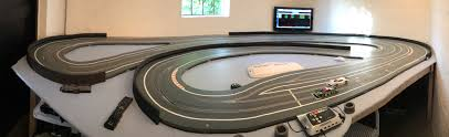 panorama of my slot car track