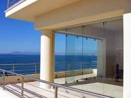 bi folding glass doors