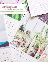 Customizable Calendar 2015 2016 Customizable Instagram Calendars Going Home To Roost
