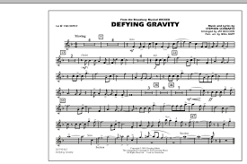 defying gravity sheet music defying gravity from wicked 1st bb trumpet sheet music at