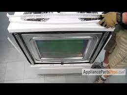 kenmore oven door glass replacement