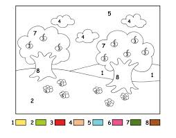 Small Picture Number Coloring Pages For Toddlers Coloring Pages