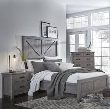 rustic gray bedroom set. Brilliant Set Gray Rustic 6 Piece Queen Bedroom Set U2013 Austin  Rc Willey Furniture With  Grey For M