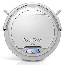 pure clean pucrc25 automatic robot vacuum cleaner robotic auto home cleaning clean carpet hardwood floor
