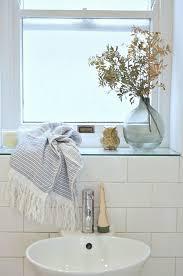 ideas bathroom treatment subway tile window sills how to choose the finishing