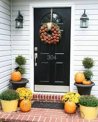 front door decor50 Fall Front Door Dcor Ideas  family holidaynetguide to