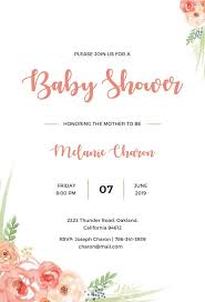 Invitation Free Templates 22 Best Baby Shower Invitation Templates Editable Psd Ai