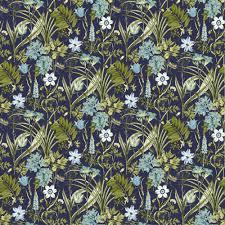 Light Blue Wallpaper Bedroom Ideco Home Flora Fauna Dark Blue Green Light Blue White
