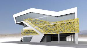 office building design architecture. Khorramshahr Office Building Design Architecture K