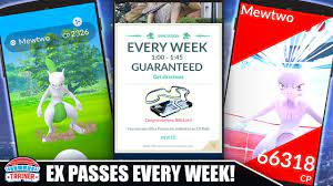 HOW TO GUARANTEE EX RAID PASSES EVERY WEEK - TOP EX PASS STRATEGY FOR SB  SHINY MEWTWO