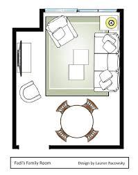 Private Residence  Family Room  Alice LaneFamily Room Floor Plan