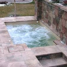 how to build a concrete hot tub cost of building an hot tub round designs build