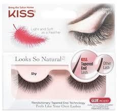 Kiss <b>накладные ресницы Looks so</b> Natural Shy — купить по ...