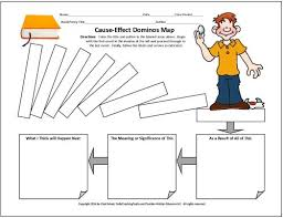 best cause effect images cause and effect more graphic organizers for teaching literature and reading