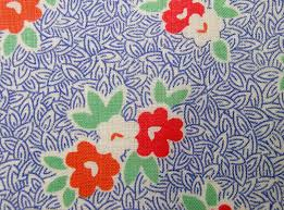 Textile pattern design  Q is for Quilter  Blog Archive  Vintage Fabric  Gallery  1930s Blues