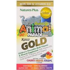 Nature's Plus, <b>Source of Life Animal</b> Parade Gold, Children's ...
