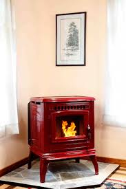 ... Favorable Ideas Of Freestanding Fireplace Designs In Home Interior  Decoration : Elegant Red Iron Electric Gas ...