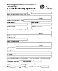 House Rent Agreement Letter Sample Awesome Rental Contract Template ...