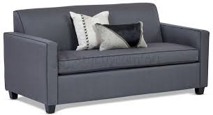 bella vista sofa featuring warwick vegas range in charcoal colour with additional contrast piping