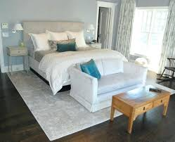 rug in bedroom standard size