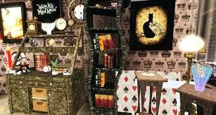 round wonderland kitchen dining room alice in set best decor