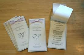 Booklet Program Template Catholic Wedding Program Out Mass Template A Top Booklet For
