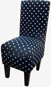 black and white vanity chair. black and white polka dot dining vanity chair