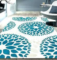 blue round area rugs wayfair 9 x 12 light com