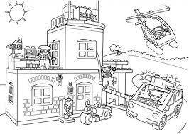 Small Picture Lego Police Coloring Pages regarding Property Cool Coloring