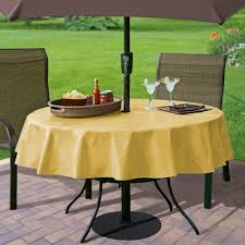 elegant ideas about round outdoor tablecloth with umbrella hole e with patio tablecloth with umbrella hole