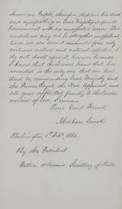 best abraham lincoln images abraham lincoln  letter from abraham lincoln to queen victoria on the death of prince albert page two · american history xbritish