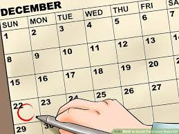 Period Chart To Avoid Pregnancy How To Avoid Pregnancy Naturally With Pictures Wikihow