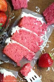 Mini Six Inch Strawberry Cake The Emotional Baker