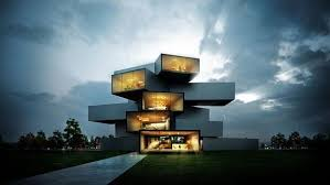 ultra modern architecture. Ultra Modern House Design Elegant Architecture V