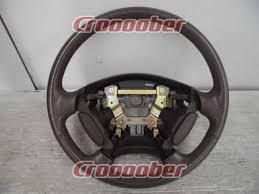 honda ra6 genuine leather steering wheel for repair