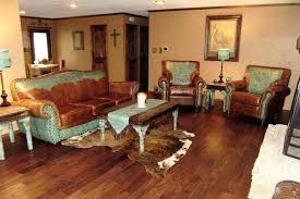 Western Living Rooms Custom Decorating