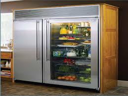 Amusing Design Fo The Silver Glass Door Refrigerator Ideas With Brown  Wooden Floor And Doors Ideas